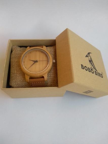 Relógio De Pulso Masculino, Feminino, Bobo Bird