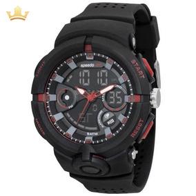 Relógio Speedo Masculino 81158g0evnp2 Com Nf