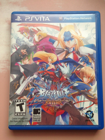 Blazblue Continuum Shift Extended Ps Vita Frete Gratis159,98