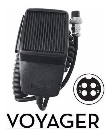 Microfones Voyager Dinamic Imp. 500 Oms Conector De 4 Furos