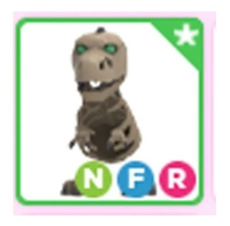 Pet Skele-rex Neon F R Adopt Me