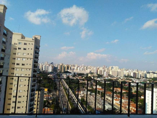 Apartamento Com 1 Dormitório Para Alugar, 37 M² - Campo Belo - São Paulo/sp - Ap1087