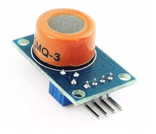 Modulo Sensor De Alcohol Etanol Mq-3 Mq3 Arduino