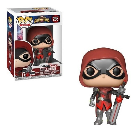 Funko Pop Games Contest Of Champions - Guillotine 298