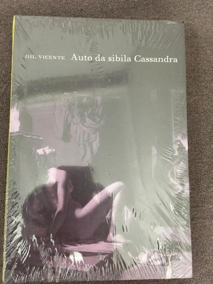 Livro Auto Da Sibila Cassandra (lacrado) - Vicente- Cosac