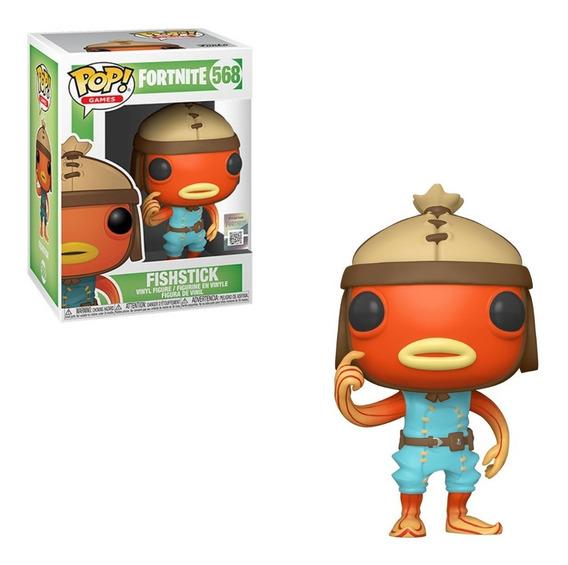 Boneco Funko Pop Fortnite Fishstick 568