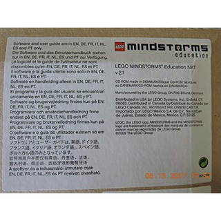 Lego Mindstorms Education Nxt Software 2.1 2000080