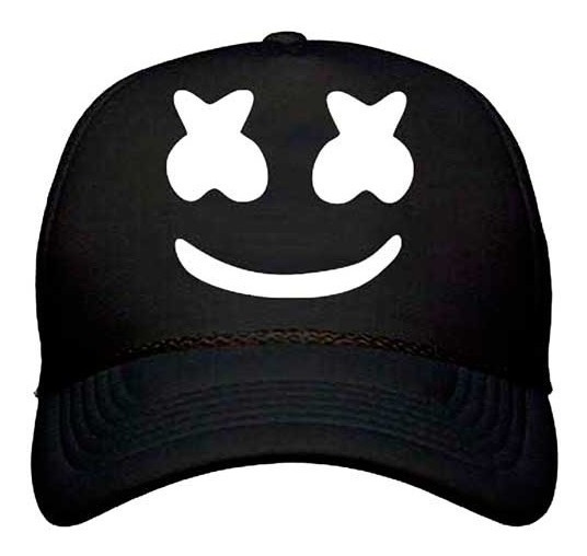 Gorra Dj Marshmello Trucker Curva Regulable