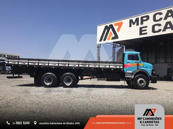 Caminhão Mercedes-benz Mb 2013 Carroceria De Madeira 6x2