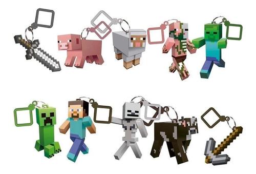 Chaveiro Minecraft Serie 1