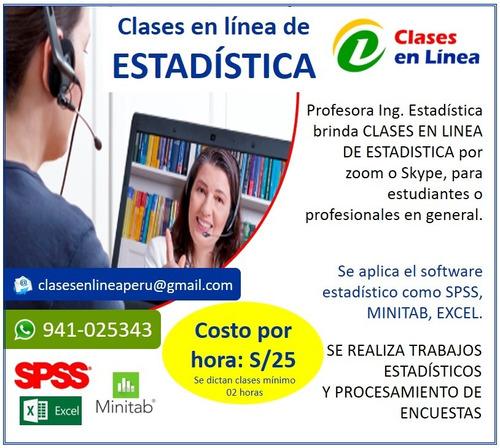 Clases Virtuales De Estadistica
