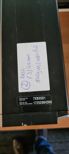 Cpu I3 Dell Windows 10, 4gig Ram, Hd 120