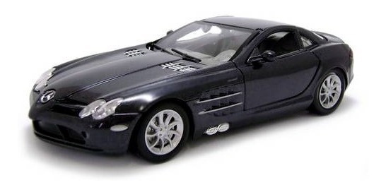 Mercedes Benz Slr Mclaren Preto - Escala 1:24 - Motormax