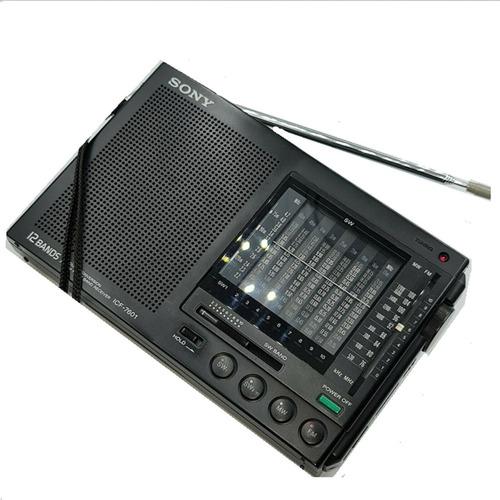 Radio Multibandas Sony  Icf Icf-7601 Original Japones Usado