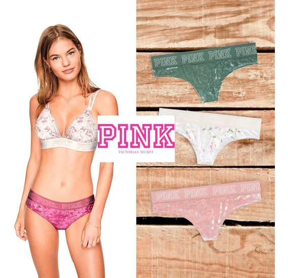 Panties Tanga Calzón Pink Victoria