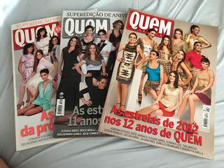 Revistas Quem - Aniversário