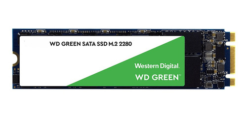Disco Estado Solido Ssd Wd 480gb 2280 Green Factor M.2