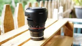 Lente Rokinon Cine 16mm - E-mount ( Para Câmeras Sony)