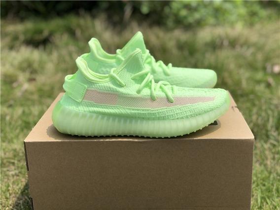 adidas Yeezy Boost 350 V2 Glow I Fotos Reais I