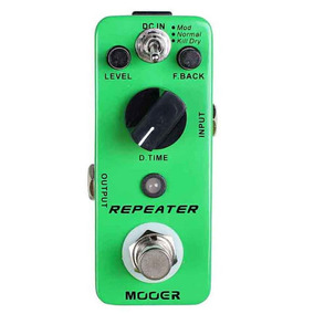 Pedal Mooer Repeater 3 Mod Digital Delay