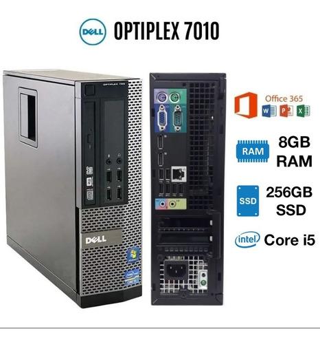 Cpu Dell 7010 Processador Core I5 8gb Ram 256gb Ssd