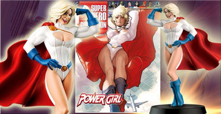 Figuras Dc Comics Nº 16 Powergirl