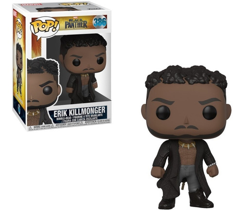 Funko Pop! Marvel: B. Panther - Erik Killmonger (33153) 386