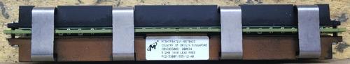 Imagem 1 de 4 de Memoria Micron 512mb 1rx8 Ddr2 667 Pc2 5300f Ecc Mac Pro