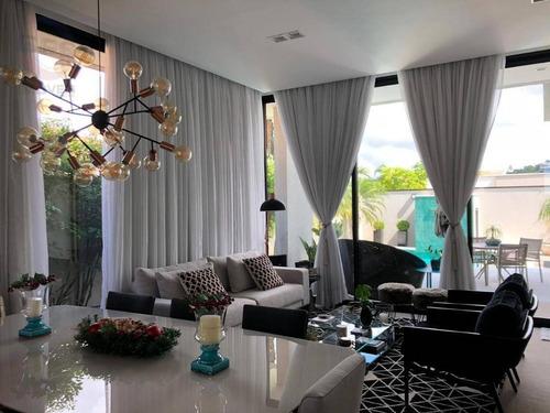 Casa Com 3 Suítes À Venda, 350 M² Por R$ 2.870.000 - Condomínio Jardim Paradiso - Indaiatuba/sp - Ca10511