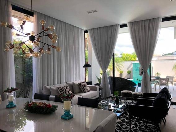 Casa Em Condomínio Mobiliada Com 3 Quartos Para Alugar, 350 M² Por R$ 12.000/mês - Jardim Vila Paradiso - Indaiatuba/sp - Ca10511