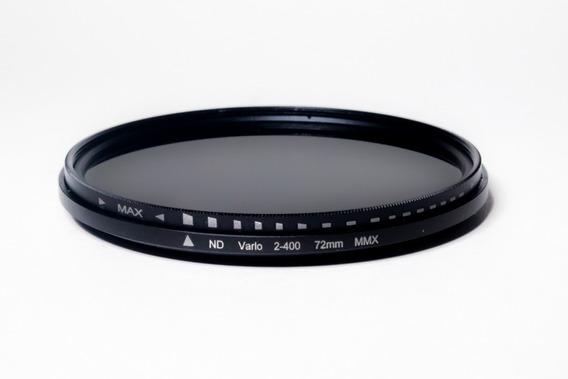 Filtro Nd Densidade Neutra Variável 72mm Nf