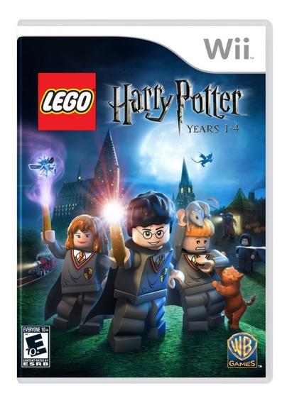 Harry Potter Lego Years 1-4 Midia Fisica Wii Original