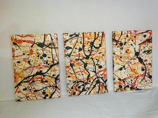 Cuadro Decorativos Set De 3 Piezas