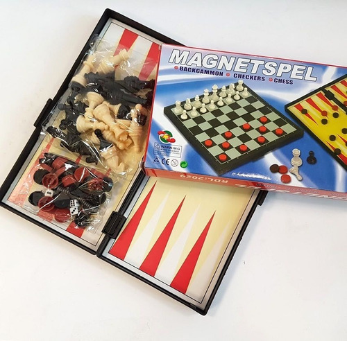 Tablero De Ajedrez Magnetspel Varios Modelos