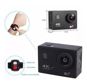 Filmadora Wifi Barato Sport Ultra Hd Camera Controle Remoto