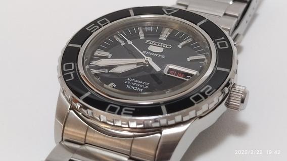 Promoção Relógio Automático Seiko 5 - Snzh53k1 Sports Dive