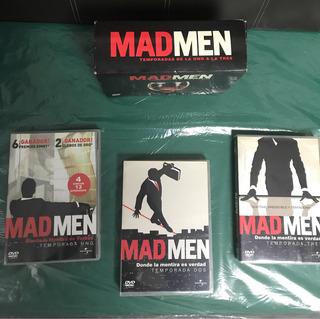 Dvd Mad Men Temporada 1-2-3 Original Usados 4discos/temp
