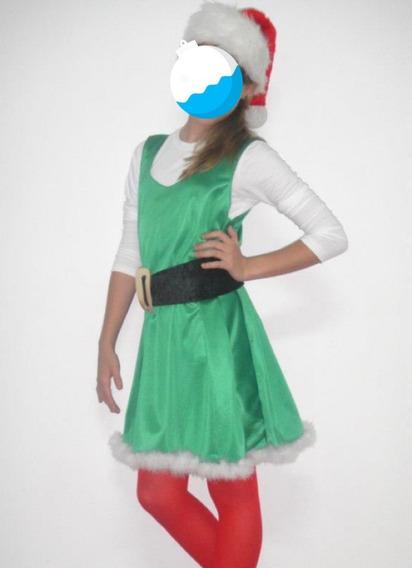 * Disfraz, Traje De Duende, Vestido Duende De Navidad