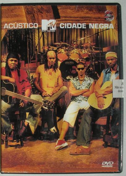 Dvd - Cidade Negra - Mtv Acustico - Booklet - Imp. Brasil