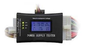 Teste Fonte Lcd Atx Btx Itx Hdd Sata Power Supply Testador