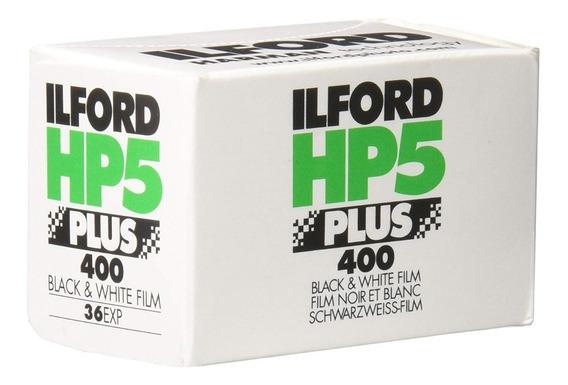 Filme 35mm Ilford Hp5 Iso 400 - Rolo Com 36 Poses