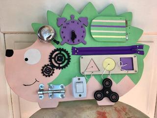 Tablero Sensorial. Panel Didáctico. Montessori. Busy Board