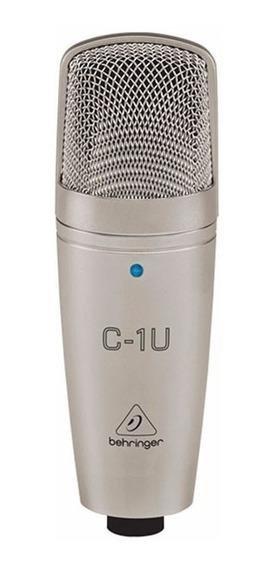 Microfone Condensador Behringer C-1u - Usb - Ac1028