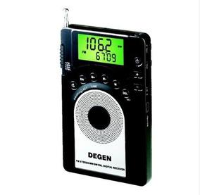 Radio Degen Digital Fm Mw Stereo Sw Fml Lcd World Radio