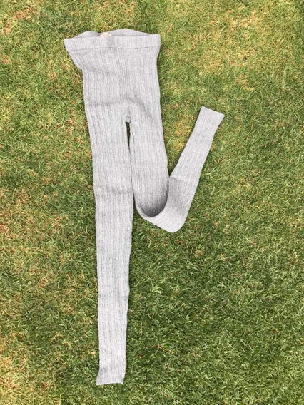 Leggings De Punto Invernales Mossimo Gris Claro