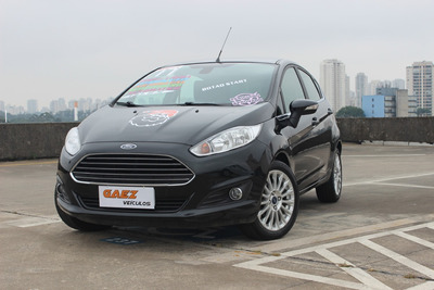 New Fiesta 1.6 16v Titanium Flex Powershift 5p