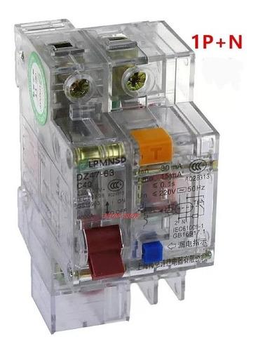 Prot Eléctrica: Disyuntor Diferencial Corriente Alterna