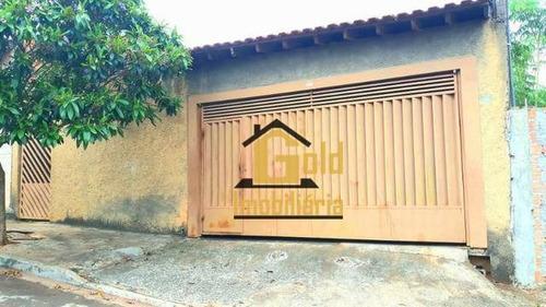 Casa Com 4 Dormitórios À Venda, 200 M² Por R$ 149.000 - Jardim Paiva - Ribeirão Preto/sp - Ca0913