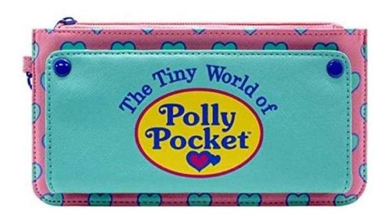 Cartera Polly Pocket Tiny World Polly Pocket Kawaii Rosa