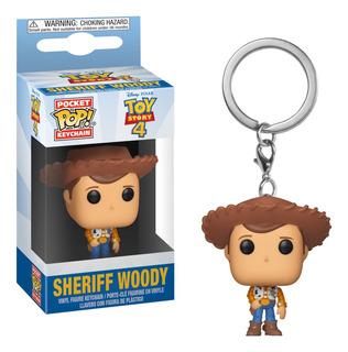 Llavero Funko Pop Keychain Toy Story 4 - Woody